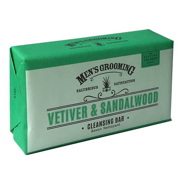 Men's Grooming Vetiver & Sandalwood Cleansing Soap Bar
