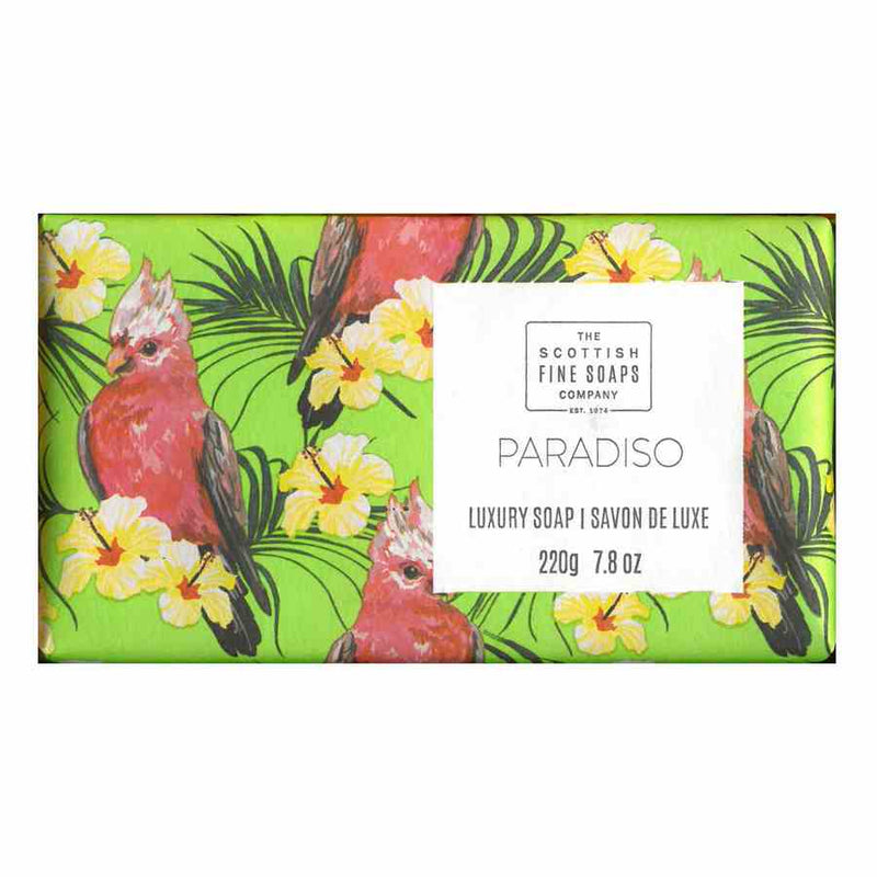 Scottish Fine Soaps Tropical Luxury Soap - Paradiso front
