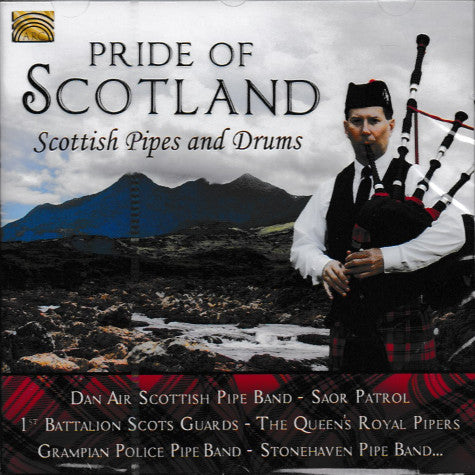 Scottish Pipes & Drums - Pride Of Scotland CD front