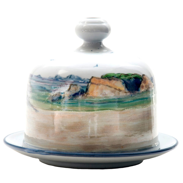 Highland Stoneware Seascape Arran Cheese Dish