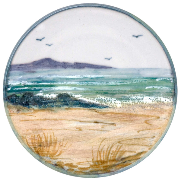 Highland Stoneware Seascape Small Round Stand