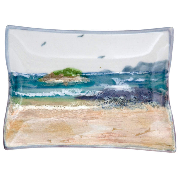 Highland Stoneware Seascape Plate Rectangle X-Small