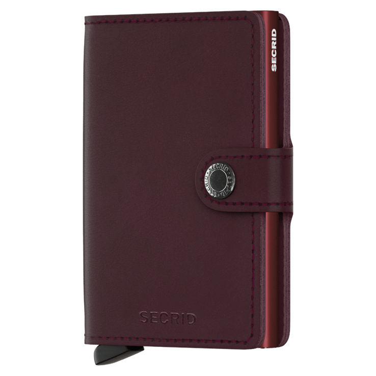 Secrid RFID Mini Wallet Original Bordeaux front