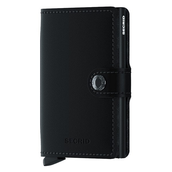 Secrid RFID Mini Wallet Original Matte Black front
