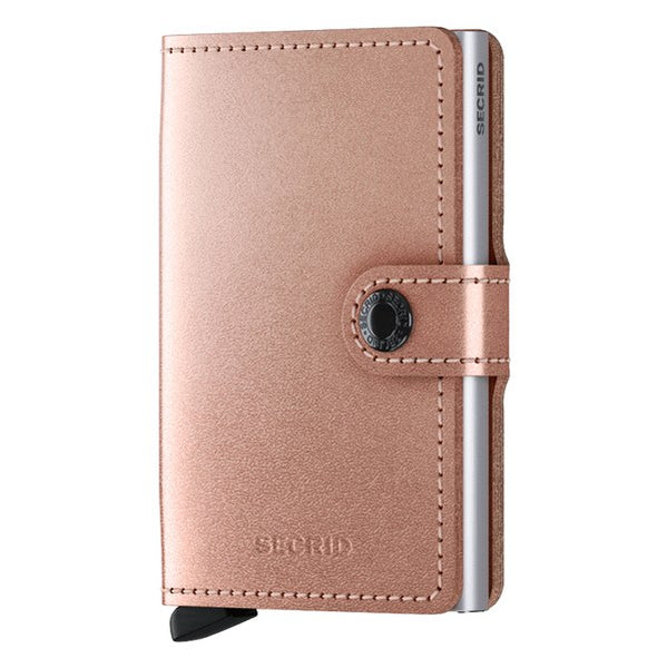 Secrid RFID Mini Wallet Original Metallic Rose front