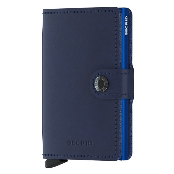 Secrid RFID Mini Wallet Original Navy Blue front