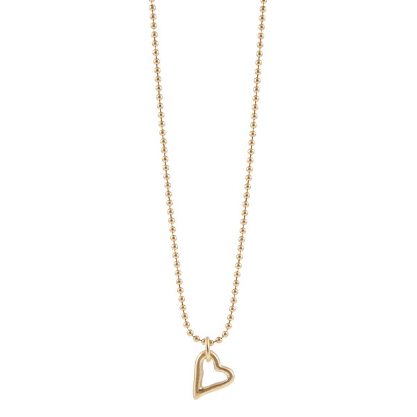 Sence Copenhagen Be Loving Necklace Worn Gold P454