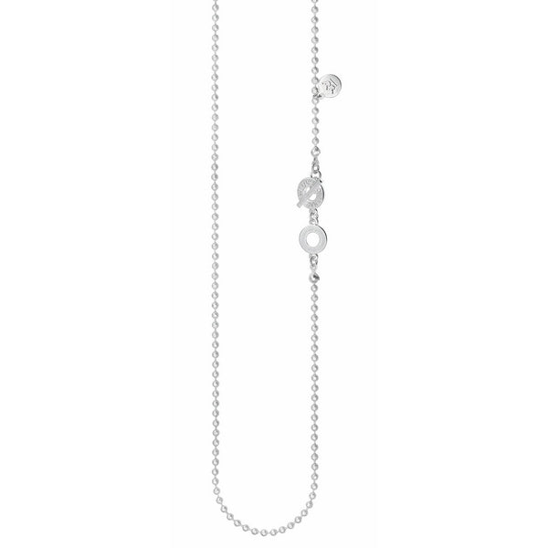 Sence Copenhagen Essentials Necklace Matt Silver 90cm T967