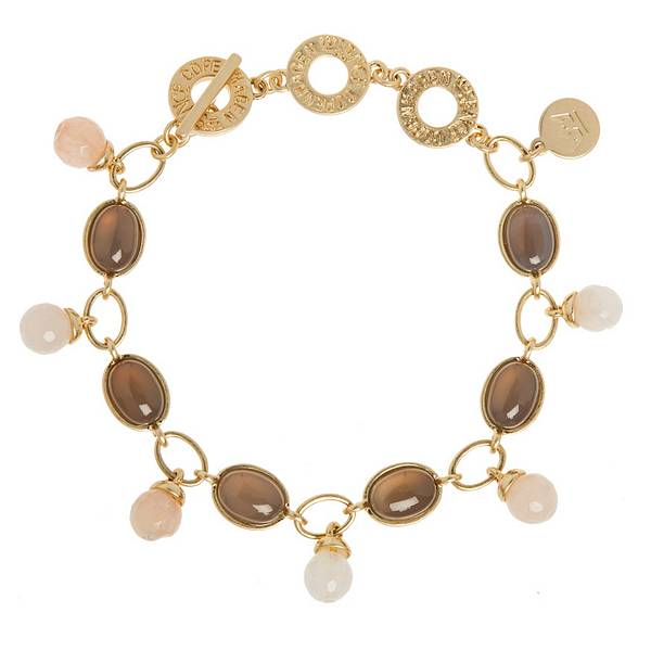 Sence Copenhagen Fashion Jewellery Curiosity Bracelet Worn Gold P890
