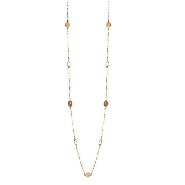 Sence Copenhagen Fashion Jewellery Curiosity Necklace Worn Gold P884