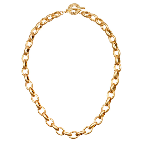 Sence Copenhagen Fashion Jewellery Essentials Necklace Matt Gold T946