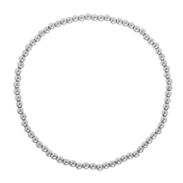Sence Copenhagen Fashion Jewellery Roots Bracelet Worn Silver P967