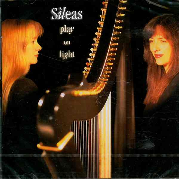 Sileas - Play on Light CD front cover