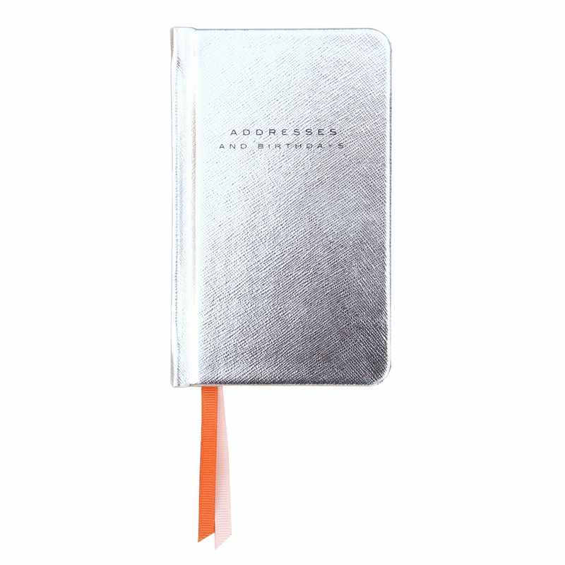 Silver Handbag Address Book HAA100