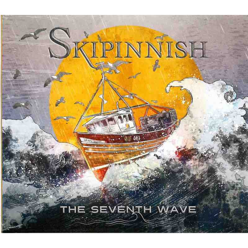 Skipinnish - The Seventh Wave CD front cover