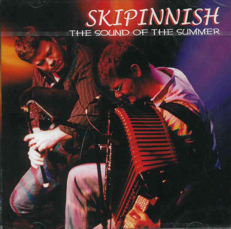 Skipinnish - The Sound Of The Summer CD front