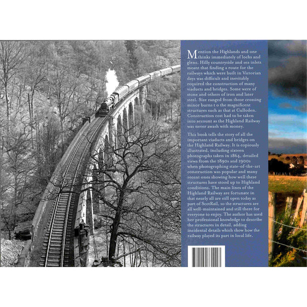 Anne-Mary Paterson - Spanning The Gaps - Highland Railway Bridges and Viaducts back cover
