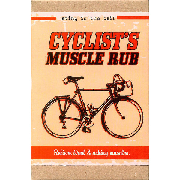Sting In The Tail - Cyclist's Muscle Rub