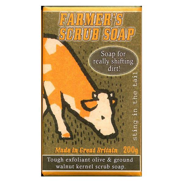 Sting In The Tail Farmer's Soap Scrub - cow