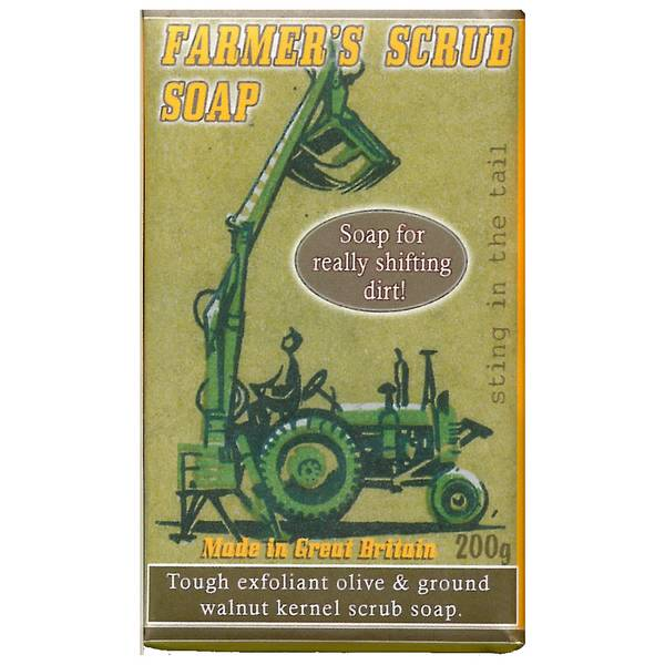 Sting In The Tail Farmer's Soap Scrub - grab
