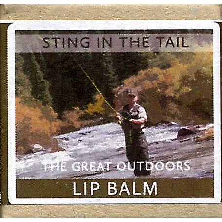 Sting In The Tail The Great Outdoors Chocolate Lip Balm