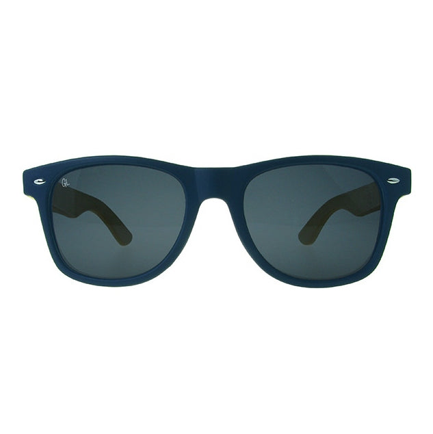 Sunglasses Ash Blue & Bamboo GS1033 front