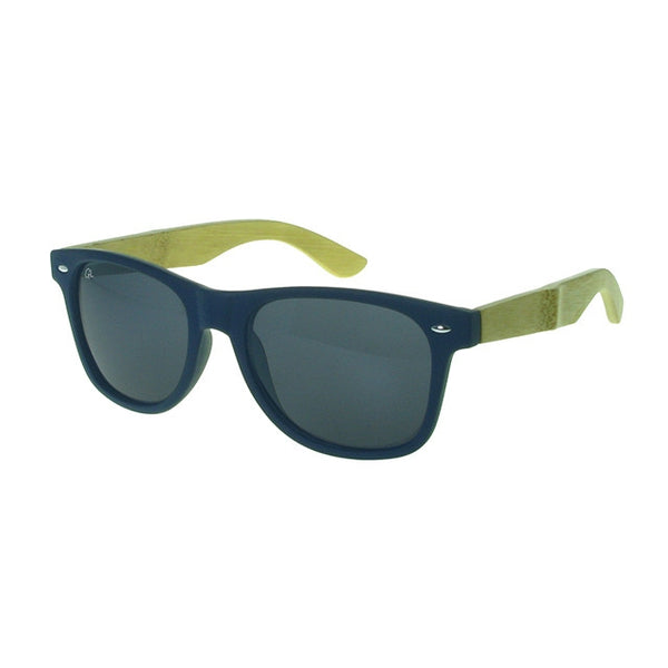 Sunglasses Ash Blue & Bamboo GS1033 side