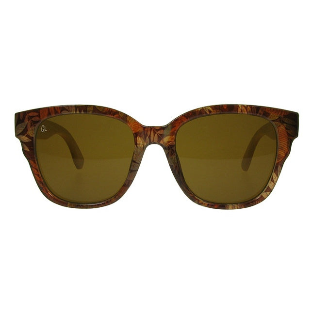 Sunglasses Carmen Brown & Bamboo GS1041 front