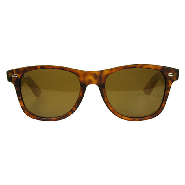 Sunglasses Polarised Ash Tortoiseshell and Bamboo GS1033 front