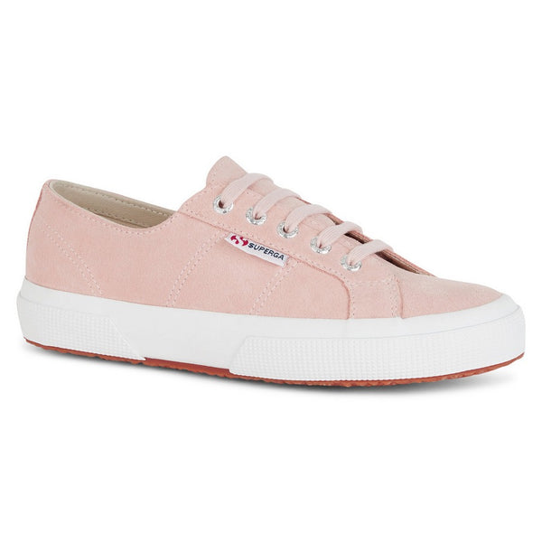 Superga 2750 Pink Skin Suede Trainers S003SR0-W6Y main