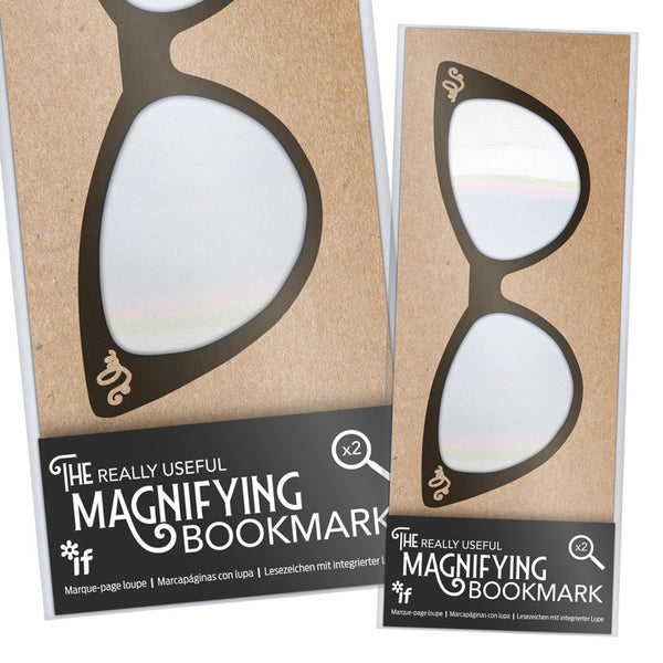 The Really Useful Magnifying Bookmark catseye design