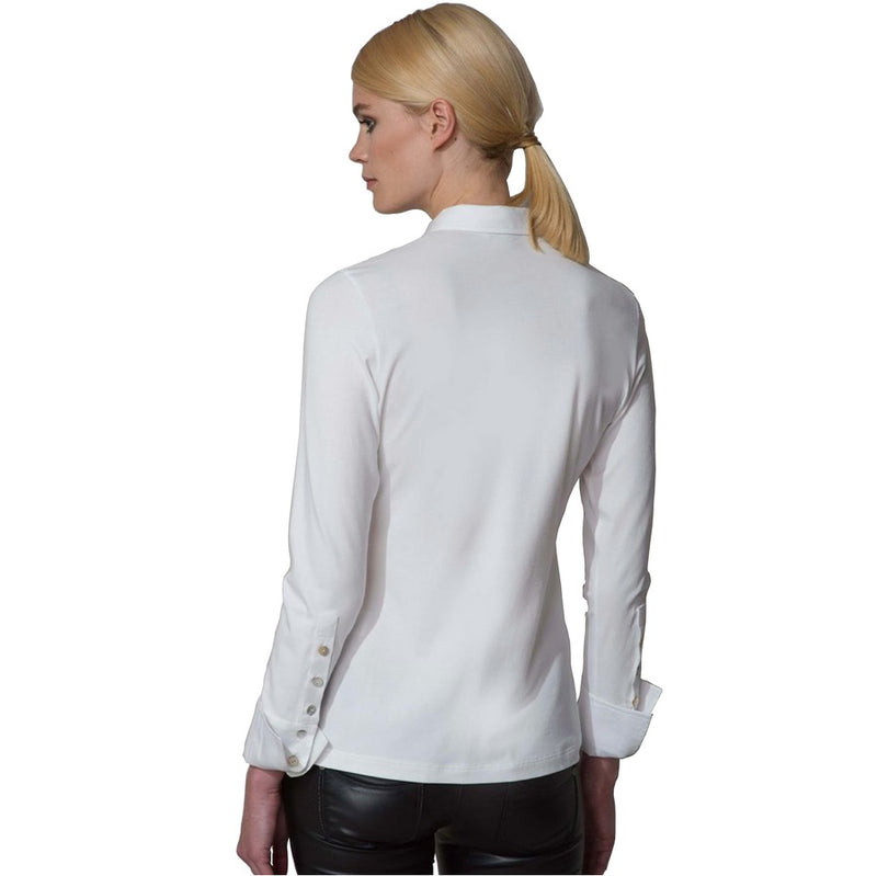 The Shirt Company Patricia White Shirt on model back