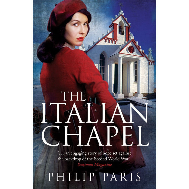 Italian Chapel - Philip Paris - book Old cover