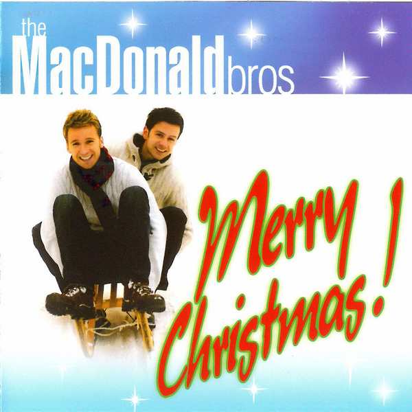 The MacDonald Bros - Merry Christmas CD front cover