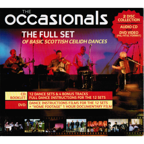 The Occasionals - The Full Set Of Ceilidh Dances CD & DVD DVTRAX2021
