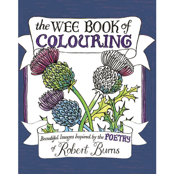 Wee Book Of Colouring (Robert Burns Poetry)