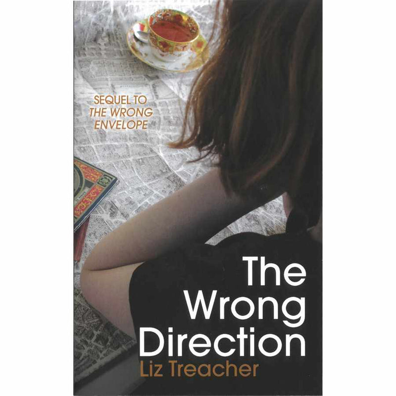 The Wrong Direction by Liz Treacher front cover