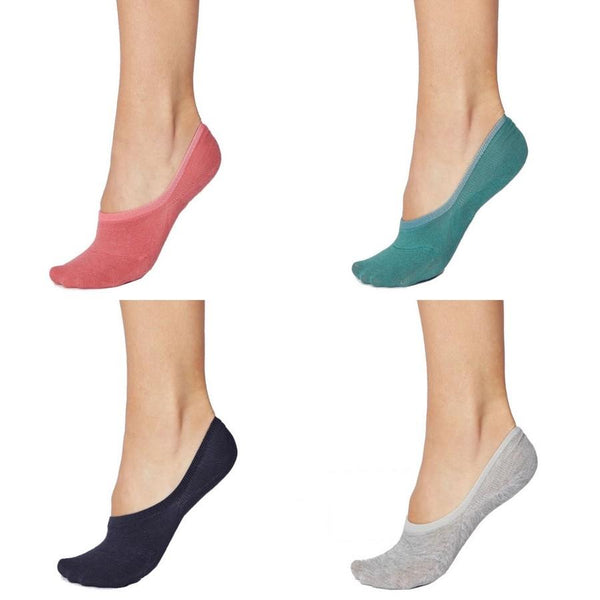 Thought Clothing Bamboo No Show Sock Colour Selection