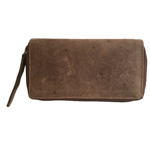 Tobacco Tabbed Purse back