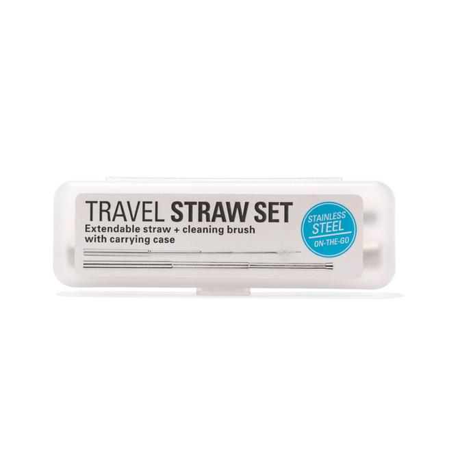 Stainless Steel Travel Straw Set box