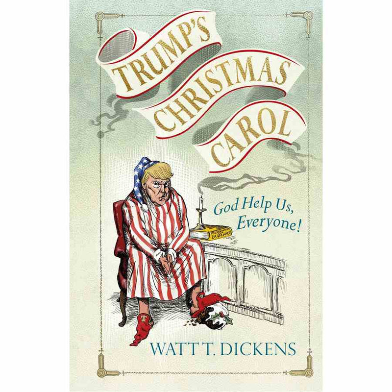 Trumps Christmas Carol book front cover