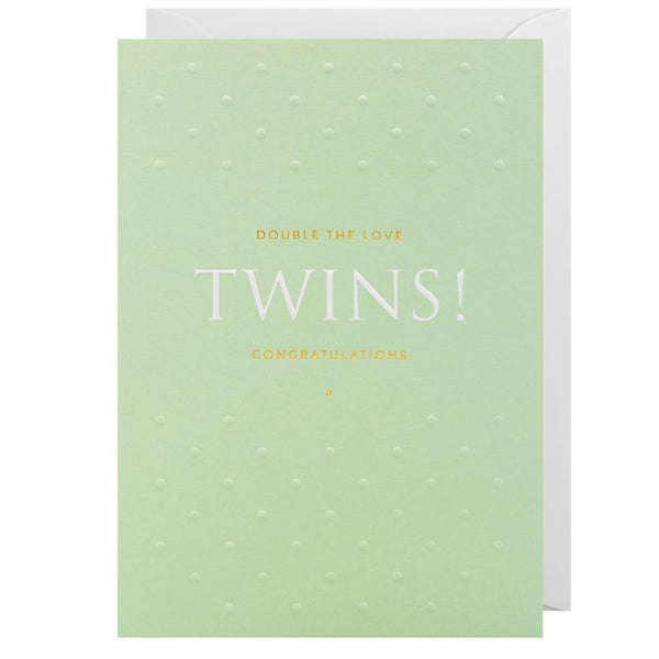 Twins - Double The Love! Congratulations 1993