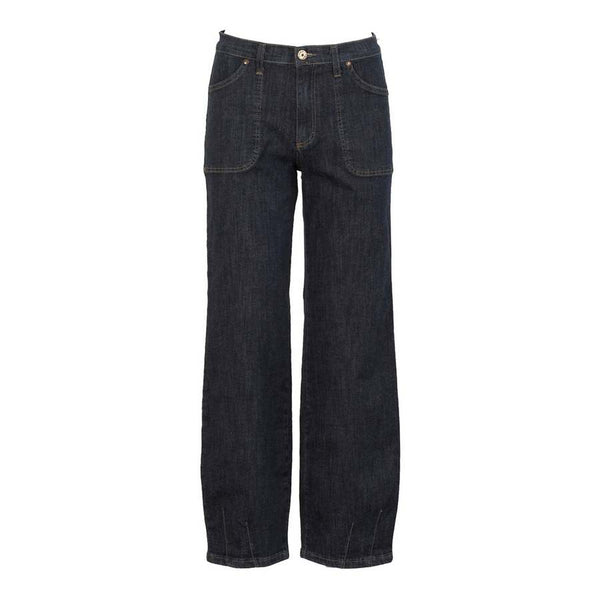 Two Danes Clothing Abby Jeans in Blue Denim 7114-9476 front