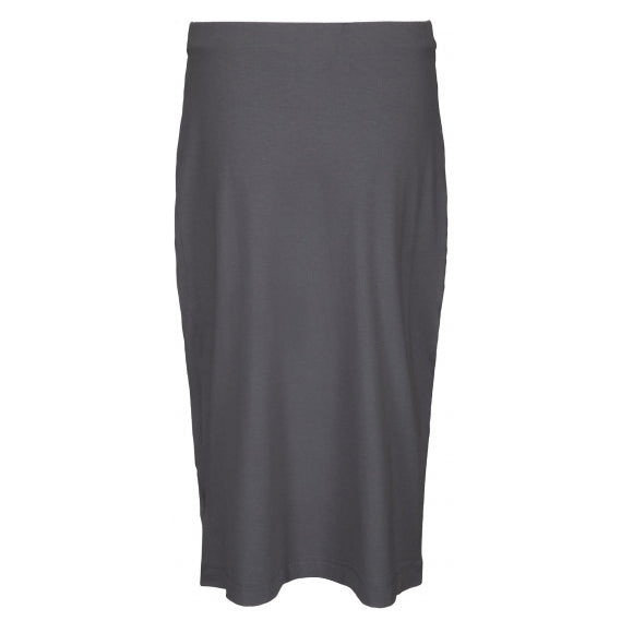 Two Danes Clothing Baker Bamboo Skirt in Sage back