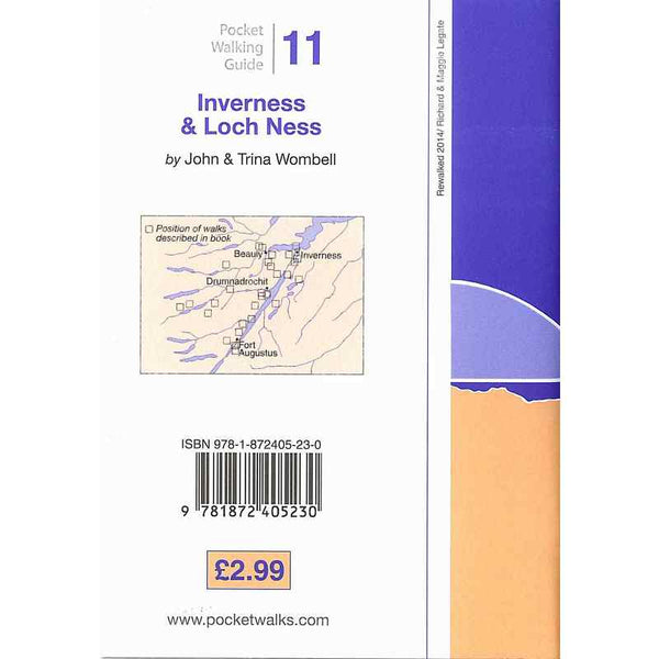 Walks - Inverness & Loch Ness back cover