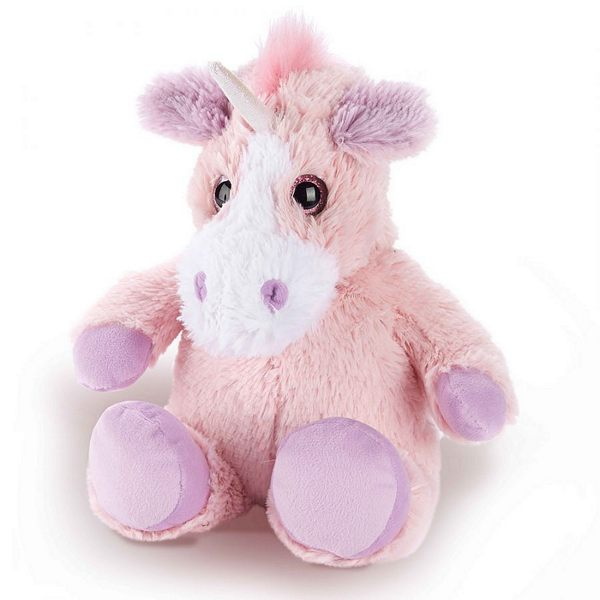 Warmies Microwaveable Plush Pink Unicorn Main