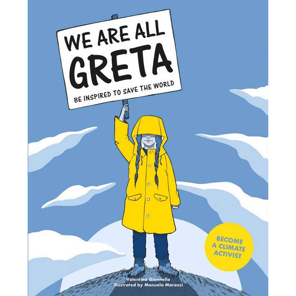We Are All Greta book front cover