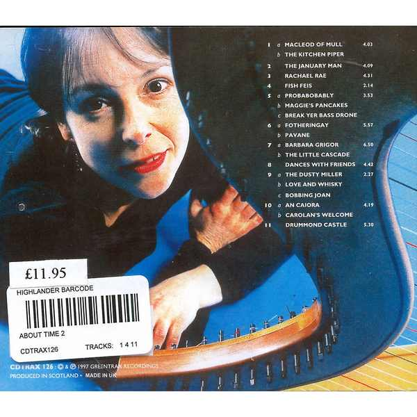 Wendy Stewart - About Time 2 CD back cover