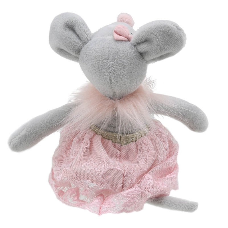 Wilberry Toys Dancer Mouse in Skirt WB004107 back