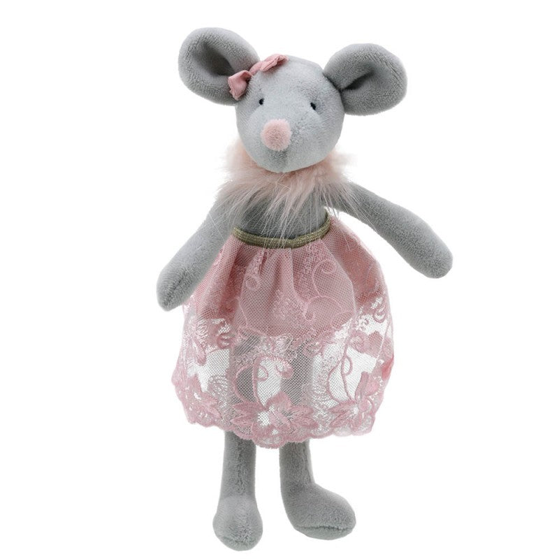 Wilberry Toys Dancer Mouse in Skirt WB004107 front